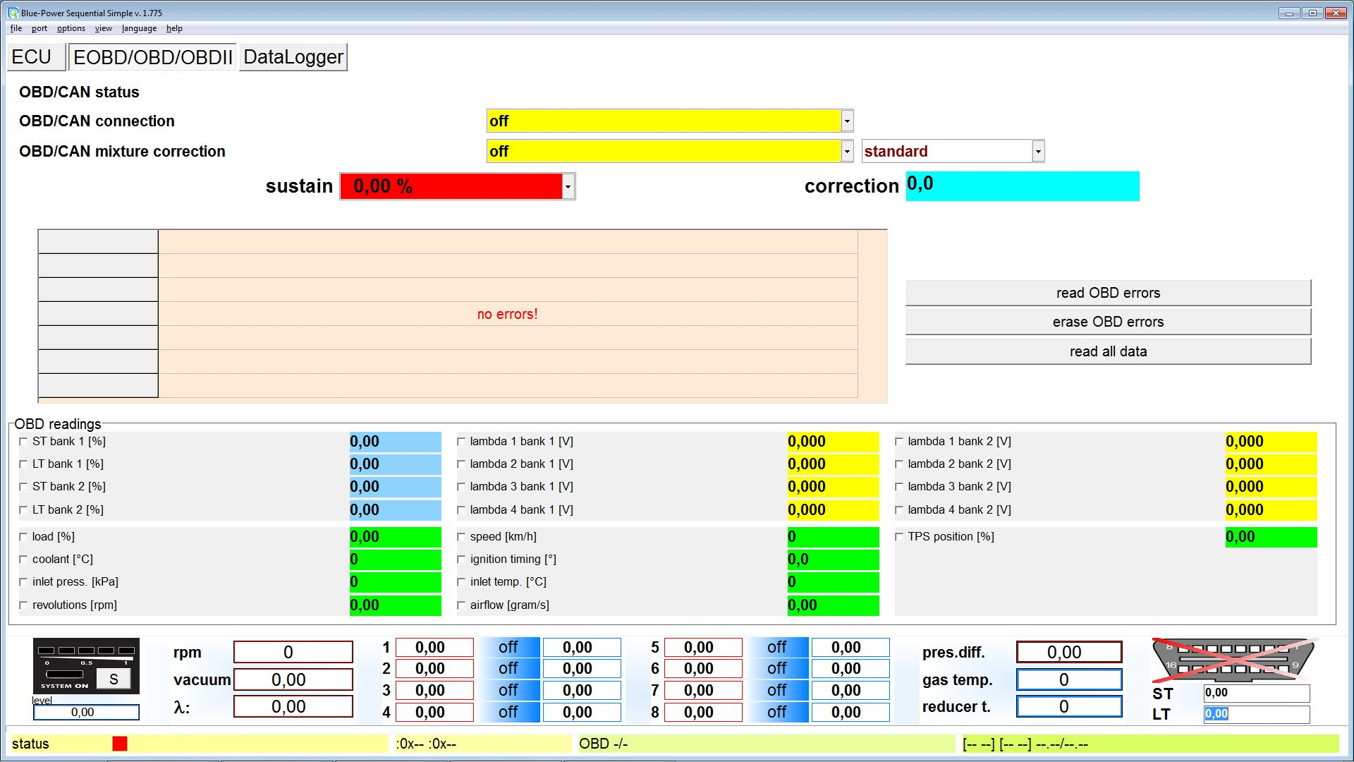 New Sequential Blue Power Software For Petrol Gasoline
